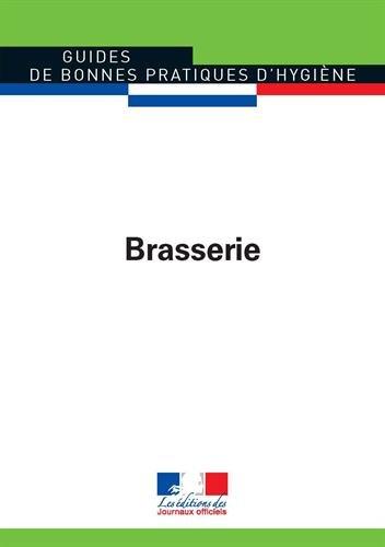 Brasserie - Guides de bonnes pratiques d'hygiène n°5917