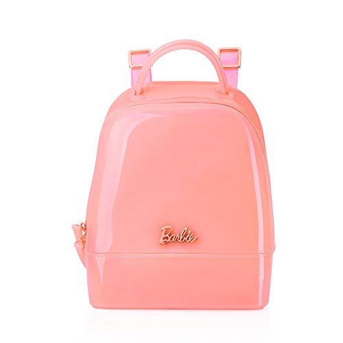 Barbie Zaino da Donna Ragazza Bambina per Scuola in PVC dalla serie di Principessa Colore Rosso Rosa#BBBP062 Rosa