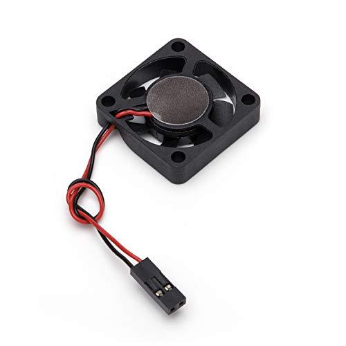 Aukru Mini Fan para Raspberry Pi 4 Modelo B, DC 5V/12V 0.2A...