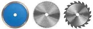 Einhell 4502128 6 Piece Mini Circular Saw Blade set to Fit Einhell BT-CS 860