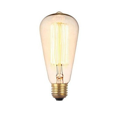 PP g80 e27 40w retro kreative Kunst Persönlichkeit dekorative Glühlampe -