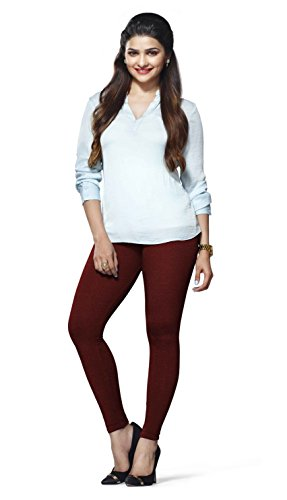 Lux Lyra Women\'s Ankle Length Leggings - Maroon