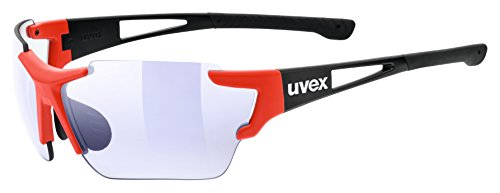 Uvex Erwachsene sportstyle 803 race vm Sportsonnenbrille, black-red, One Size