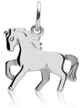 Unique Pferdekette für Kinder aus 925 Silber KP0005-SL