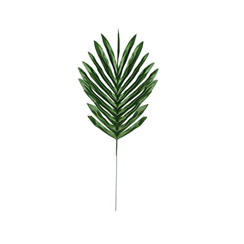 Cdrox Künstliches Blatt Tropische Palmblätter Simulation Blatt für Hawaiian Luau Thema-Partei-Hausgarten-Dekorationen