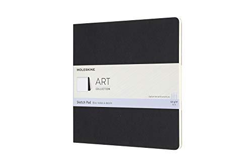Moleskine 8058647626833 Skizzenblock, 120g Papier Quer, Kartoneinband Schwarz