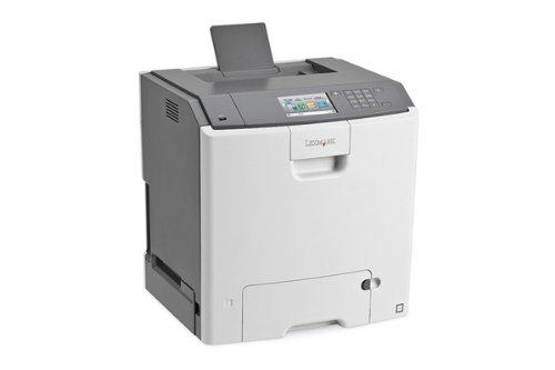 Lexmark C748e Farblaserdrucker (1200x1200 dpi, USB 2.0) grau (Desktop-farb-laser)