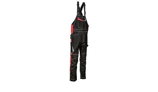 Kollektion Ergowear schwarz//rot COFRA 48405 Arbeitslatzhose Modell Viseu