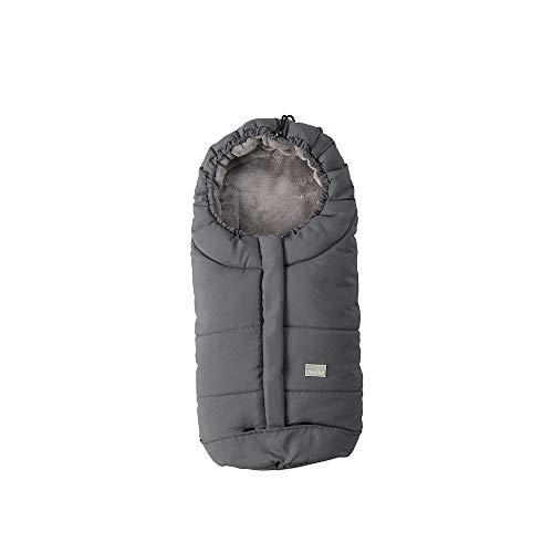 Nuvita Caldobimbo City sacco termico invernale per ovetto e carrozzina (grigio) universale caldo bimbo