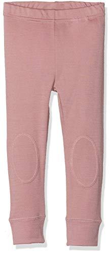 NAME IT Baby-Mädchen NMFWILLIT Wool NOOS Leggings, Mehrfarbig (Woodrose), 86 - Kinder-ripp-strumpfhosen