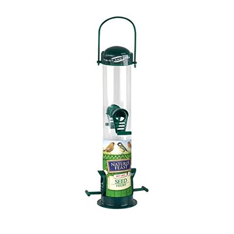 Natures Feast 20 cm Seed Feeder with 2 Port - Nyjer Seed
