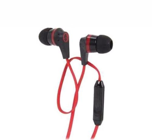 Skullcandy With Mic All Models Red Color Headphone / Earphone  available at amazon for Rs.649