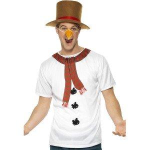Schneemann-Kostüm für Männer (Kit Kostüme Schneemann)