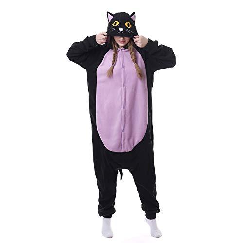 Pyjamas Jugend Bekleidung Animal Erwachsene Unisex Schlafanzüge Karneval Onesies Jumpsuits Spielanzug Partei Kostüme Mitternachts Katze Spielanzug Kostüme Weihnachten (Charmander Halloween Kostüm)