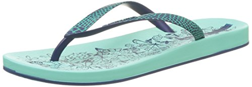Ipanema Anat. Nature Fem, Tongs Femme Vert (Green/Blue)