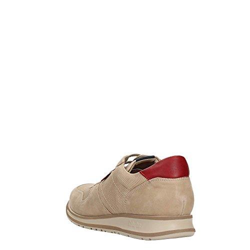 CallagHan 88402 Sneakers Uomo Pelle Beig Beig