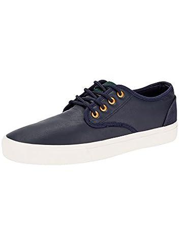 oodji Ultra Homme Chaussures Basiques en Similicuir, Bleu, 46 EU / 11 UK