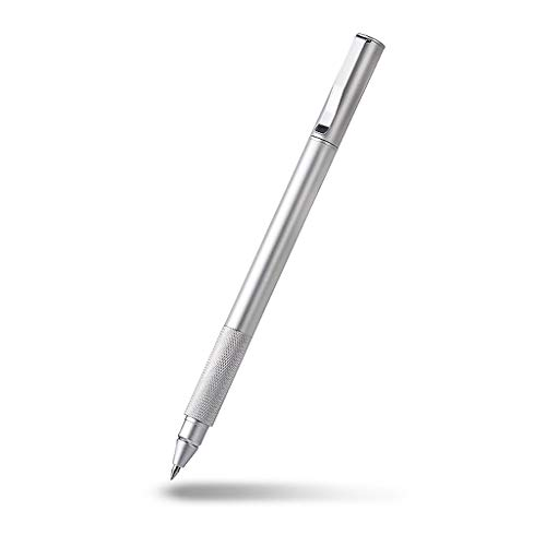 Kugelschreiber Press-Typ Metal Business Signature Refill 0,5 mm Stift Schwarzer Stift Student Kreativer Stift auf Wasserbasis kugelschreiberminen