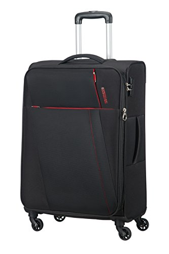 AMERICAN TOURISTER Joyride - Spinner 69/25 Expandable Equipaje de mano, 69 cm, 67 liters, Negro (Obsidian Black)