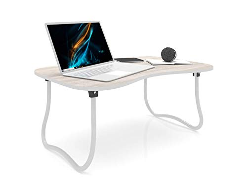 Forzza Zoey Laptop Table (White)