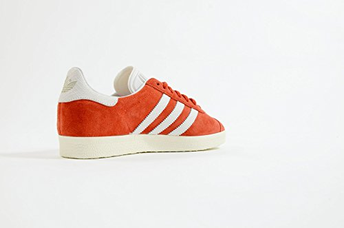 Adidas Original Zapatillas GAZELLE S76026 Naranja Unisex Rojo