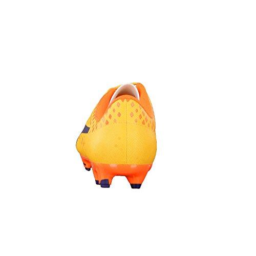 Puma Herren Evopower Vigor 4 Fg Fußballschuhe Ultra Yellow-Peacoat-Orange Clown Fish