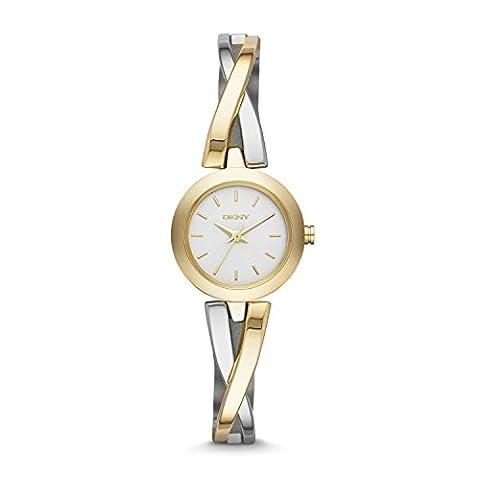 DKNY Damen-Armbanduhr XS Analog Quarz Edelstahl NY2171