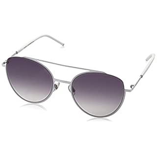 Marc Jacobs Damen Sonnenbrille Marc 37/S 9C SJR 53, White/Dk Grey Sf