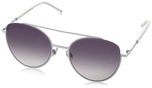 Marc Jacobs Damen Marc 37/S 9C SJR 53 Sonnenbrille, White/Dk Grey Sf