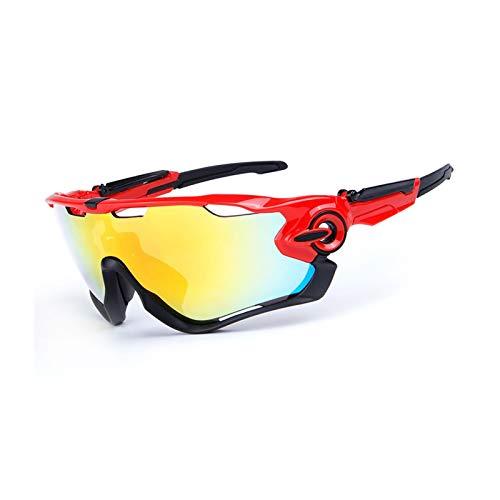 MaxAst Sportbrille Nacht Brille Motorrad Nacht Unisex Schutzbrille Beschlagfrei Multicolor