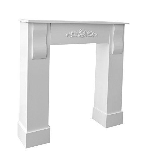 cadre-decoratif-en-bois-mdf-blanc-cheminee-decoration-florale-central-et-sur-les-pieds-provencal-sha