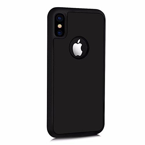Anti Gravity Schutzhülle für Apple iPhone X / iPhone 10 5.8 Zoll Case Handy Cover Schwarz