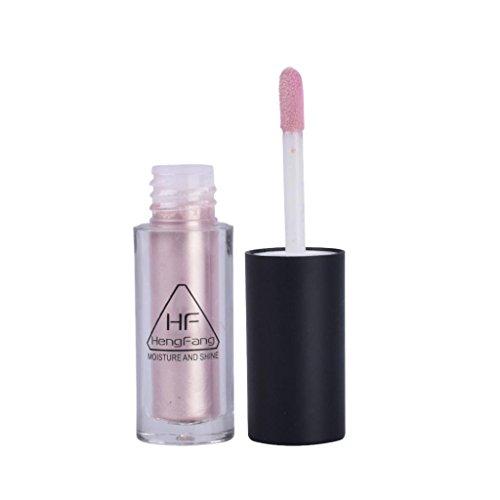 Baosity Flüssig Highlighter Puder Liquid Concealer wasserdicht und langlebig Gesicht Haut Highlighter Stick - Weich Rosa