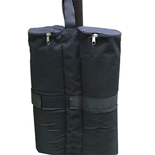 GFYWZ Set mit 4 Pavillonsandgewichten Pavillon-Sandsäcken - Doppelbein-Reißverschlussobersandgewichte für Pavillons, Zelte, Sonnenschirme, Trampoline