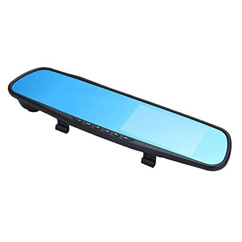 Sharplace Nachtsich Monitor Parkscheibe Auto Mini Recorder Tastenverriegelungsfunktion