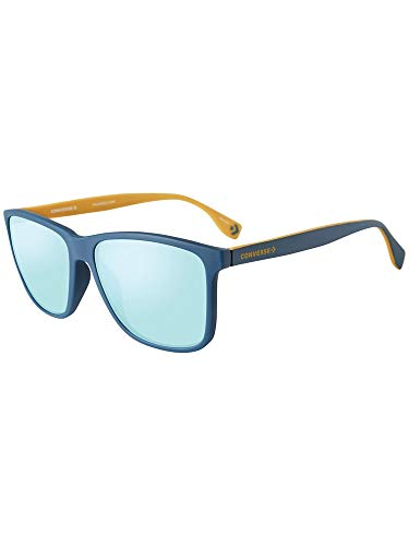 Converse SCO050587A5A Mirrored Square Sunglasses Blue