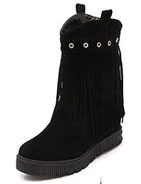 Vestito da partito della testa rotonda della nappa delle pompe dell'alto tallone delle scarpe da donna delle scarpe...
