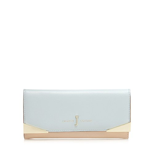 j-by-jasper-conran-womens-light-blue-colour-block-and-metal-trim-large-purse