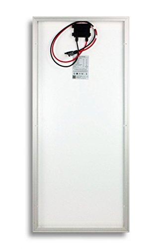 2 Stück 100W Watt Solarmodul 12V Monokristallin - Solarpanel - PV-Modul - Solar Photovoltaik - Camping - solarXXL -