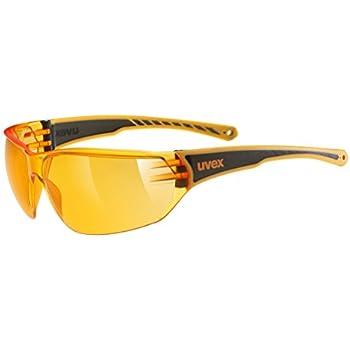 Uvex Erwachsene Sonnenbrille Sportstyle 201, Black Yellow, S, 5306072612