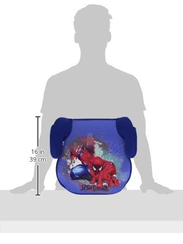 Hasbro Spiderman 10060 - Rialzo sedia per bambini, 38x39x20 cm, conforme allo standard europeo ECE R44.04, 15-36 kg