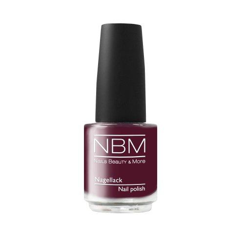 NBM Nagellack Nr. 33 aubergine 14 ml