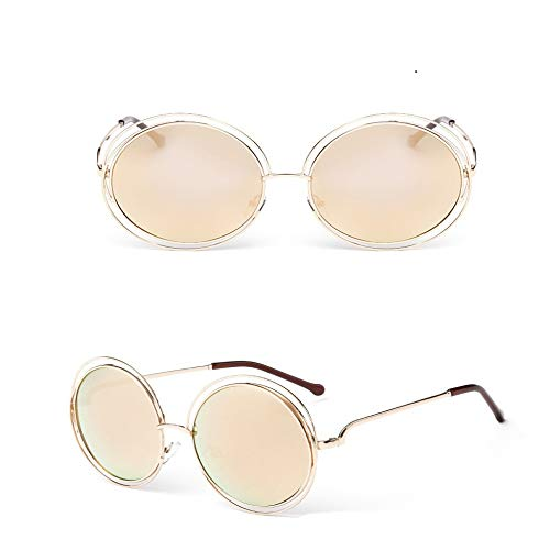 JYTDSA Fashion Sunglasses Women Small Frame Polygon Clear Lens Sunglasses Men Sun Glasses Hexagon Metal Frame