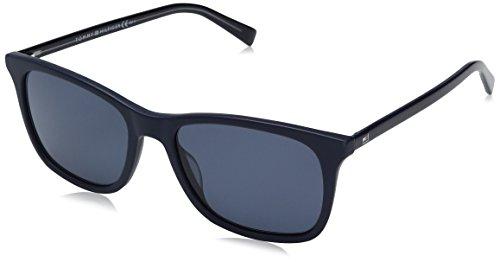 Tommy hilfiger th 1449/s ku acb, occhiali da sole uomo, blu (bluette/bluette avio), 54