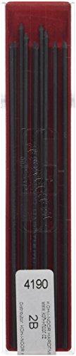 KOH-I-NOOR 2B Grade Graphite Lead for 2mm Diameter 120mm Mechanical Pencil