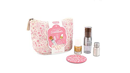 Namaki- Trousse Scintillante Maquillage, 110908, Or, Argent, Rose