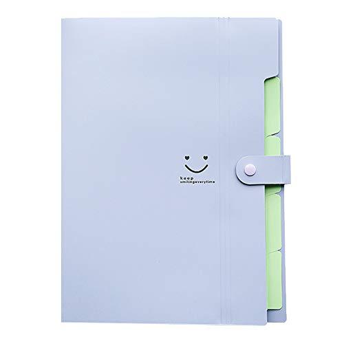 VICKY-HOHO A4 Datei Dokument Tasche Tasche Bill Ordner Halter Organizer Verschluss Bürobedarf