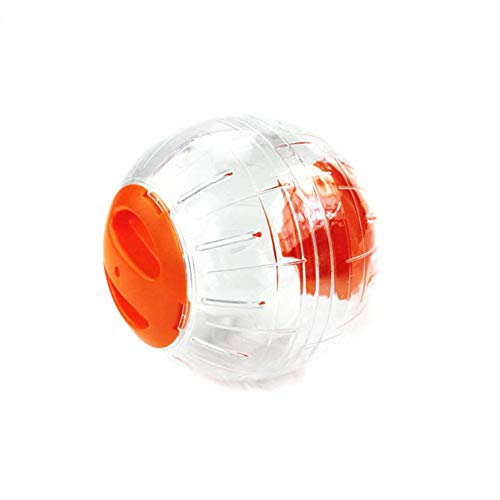 Xiton 1Pc Hamster Laufkugel Orange Tier Jogging Sport Spielzeug Pet Exercise Spinner-Spielzeug-Maus Laufkugel - Orange Spinner