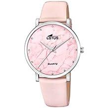Reloj LOTUS Trendy, Esfera 38 MM, Rosa, Mujer, Ref 18701-2