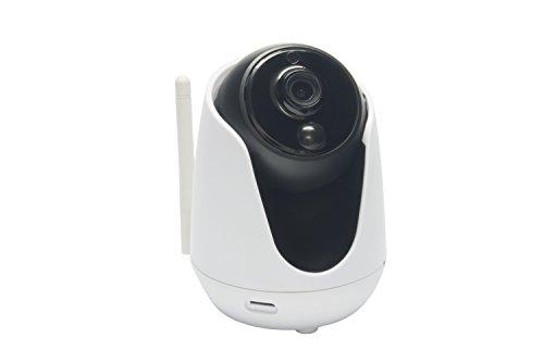 Rademacher Home Pilot - Innen 9486 WR Casa HD Kamera im Innenraum mit 1,3 Megapixel CMOS Sensor, weiß/schwarz -